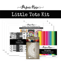 Paper Rose - Cardmaking Kit - Little Tots