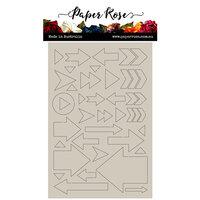 Paper Rose - Chipboard Embellishments - Arrows