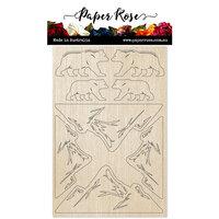 Paper Rose - Wood - Bear Mountain