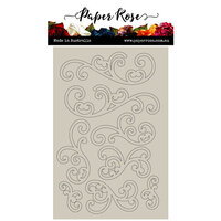 Paper Rose - Chipboard - Flourishes 1