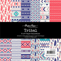 Paper Rose - 6 x 6 Collection Pack - Tribal