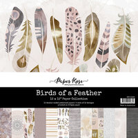 Paper Rose - 12 x 12 Collection Pack - Birds Of A Feather