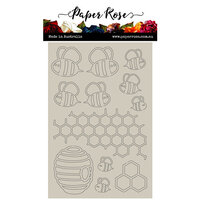 Paper Rose - Chipboard - Bee Hive