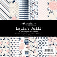 Paper Rose - 6 x 6 Collection Pack - Layla's Quilt