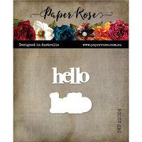 Paper Rose - Dies - Hello - Layered Sentiment - Set