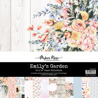 Paper Rose - 12 x 12 Collection Pack - Emily's Garden