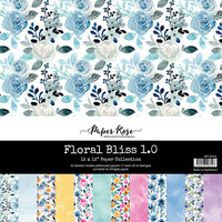 Paper Rose - 12 x 12 Collection Pack - Floral Bliss 1.0