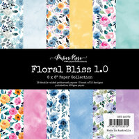 Paper Rose - 6 x 6 Collection Pack - Floral Bliss 1.0