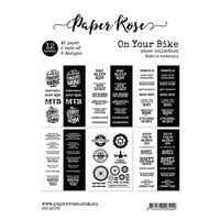 Paper Rose - A5 Collection Pack - On Your Bike