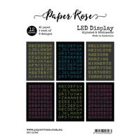 Paper Rose - A5 Collection Pack - LED Display