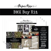 Paper Rose - Cardmaking Kit - BMX Boy