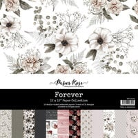 Paper Rose - 12 x 12 Collection Pack - Forever