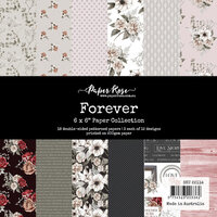 Paper Rose - 6 x 6 Collection Pack - Forever