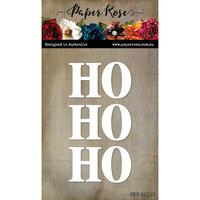 Paper Rose - Christmas - Dies - Big Ho Ho Ho