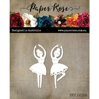 Paper Rose - Christmas - Dies - Ballerina Duo