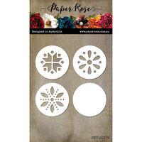 Paper Rose - Christmas - Dies - Scandi Circles