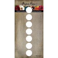 Paper Rose - Dies - Slimline - 7 Circle Strip