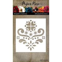 Paper Rose - Christmas - Dies - Scandi Pattern