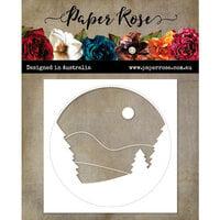 Paper Rose - Christmas - Dies - Tree Scene