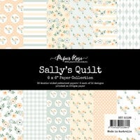 Paper Rose - 6 x 6 Collection Pack - Sally's Quilt