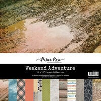 Paper Rose - 12 x 12 Collection Pack - Weekend Adventure
