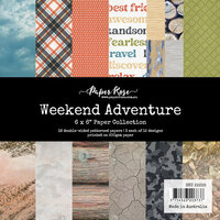 Paper Rose - 6 x 6 Collection Pack - Weekend Adventure