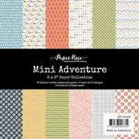 Paper Rose - 6 x 6 Collection Pack - Mini Adventure