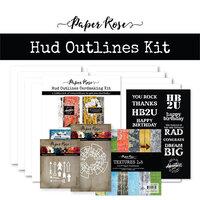 Paper Rose - Cardmaking Kit - Hud Outlines