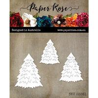 Paper Rose - Christmas - Dies - Pine Trees