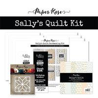 Paper Rose - Cardmaking Kit - Sally's Quilt