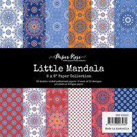 Paper Rose - 6 x 6 Collection Pack - Little Mandala
