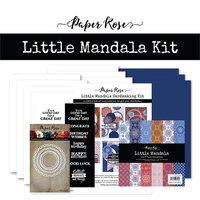 Paper Rose - Cardmaking Kit - Little Mandala
