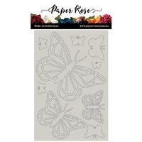 Paper Rose - Chipboard - Butterflies