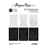 Paper Rose - A5 Collection Pack - All Occasions Sentiments