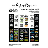 Paper Rose - A5 Collection Pack - Gamer Sentiments