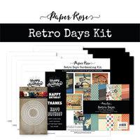 Paper Rose - Cardmaking Kit - Retro Days