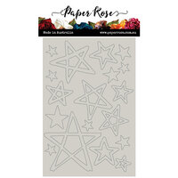 Paper Rose - Chipboard - Wonky Stars