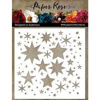 Paper Rose - Christmas - 6 x 6 Stencils - Starburst