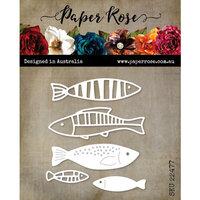 Paper Rose - Dies - Fish Family