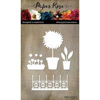 Paper Rose - Dies - Window Decorations
