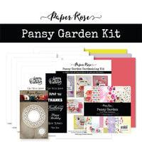 Paper Rose - Cardmaking Kit - Pansy Garden