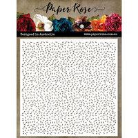 Paper Rose - 6 x 6 Stencils - Sprinkles