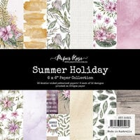 Paper Rose - 6 x 6 Collection Pack - Summer Holiday