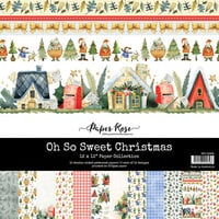 Paper Rose - 12 x 12 Collection Pack - Oh So Sweet Christmas