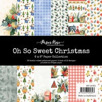 Paper Rose - 6 x 6 Collection Pack - Oh So Sweet Christmas