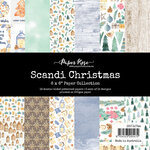 Paper Rose - 6 x 6 Collection Pack - Scandi Christmas