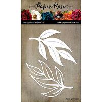 Paper Rose - Dies - Gum Leaves 4