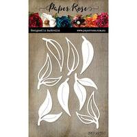 Paper Rose - Dies - Gum Leaves 5