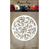 Paper Rose - Dies - Gum Leaf Circle Cover Plate