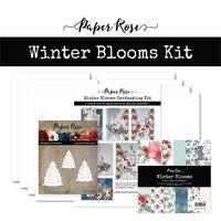 Paper Rose - Cardmaking Kit - Winter Blooms